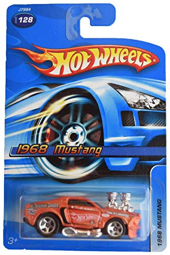 DieCast Hotwheels [1968 Mustang], Burnt Orange #128