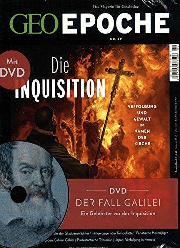 GEO Epoche (mit DVD) / GEO Epoche mit DVD 89/2018 - Die Inquisition: DVD: Der Fall Galilei