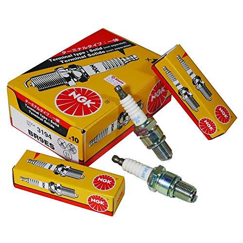 NGK 3194 Standard Spark Plug - BR9ES Solid, 1 Pack