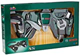 Theo Klein 8493 Cinturón de herramientas Bosch, Con destornillador Ixolino a pilas y numerosas herramientas, Medidas: 76 cm x 24 cm x 4.5 cm, Juguete para niños a partir de 3 años
