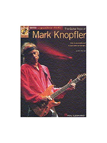 The Guitar Style Of Mark Knopfler. Partitions, CD pour Tablature Guitare(Symboles d\'Accords)