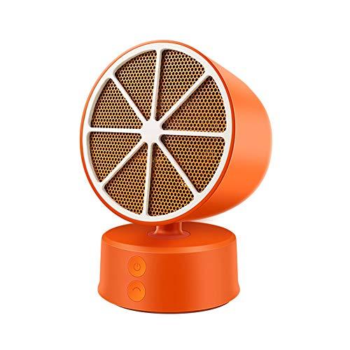 Radiador eléctrico MAHZONG Mini Calentador, soplador de Aire Caliente del hogar, Escritorio...