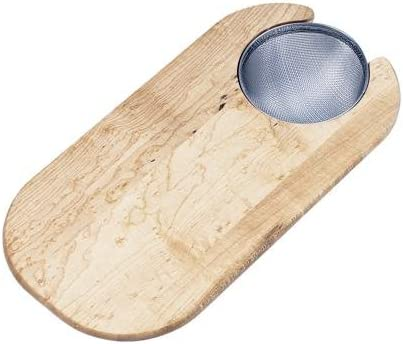 Elkay 67% OFF of fixed price CBS715 Hardwood Cutting New Shipping Free Board Strainer with