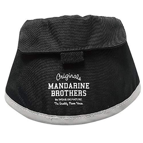MANDARINE BROTHERS マンダリンブラザーズ NECK POUCH ネックポーチ S ブラック