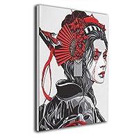 Skydoor J パネル ポスターフレーム 日本文化 着物 女 アート インテリア アートフレーム 額 モダン 壁掛けポスタ アート 壁アート 壁掛け絵画 装飾画 かべ飾り 30×40