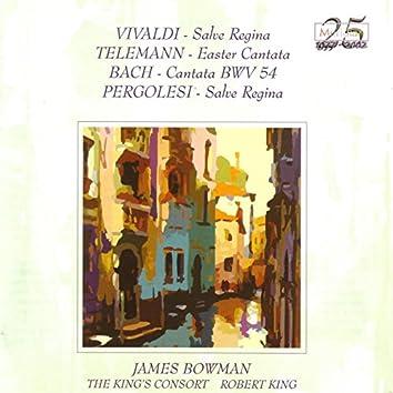 Vivaldi / Telemann / Bach / Pergolesi