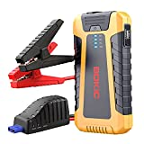BOKIC Car Jump Starter 800A for Up to 7.0L Gas or 5.0L Diesel Engines, 12V Portable Lithium-ion Auto Battery Booster Pack, Dual USB Quick Charge Ports