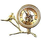 GAL Exquisite Leichte Luxusuhr Dekoration/Wohnzimmeruhr/Creative Desktop/Schlafzimmerbett/Arbeitsuhr...
