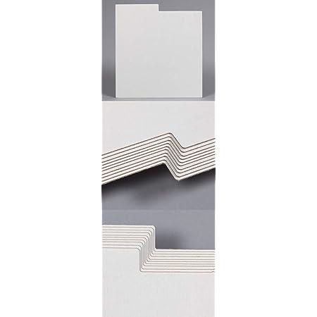 25 DIVISORES CLASIFICADORES DE Carton Hueco Color Blanco para Discos DE Vinilo LP - Ref.1839
