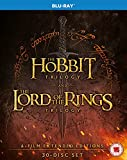The Hobbit Trilogy and The Lord of the Rings Trilogy: 6-Film Extended Editions [Blu-ray]