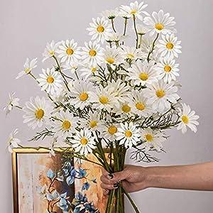 Silk Flower Arrangements NC Artificial Flowers, Dutch Chrysanthemums, Artificial Daisies, Cosmos Artificial Flowers, Home Decoration, Chamomile Artificial Flowers.