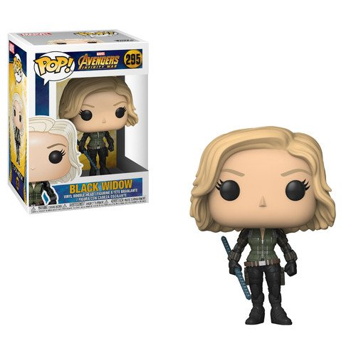 Funko Pop!- Marvel: Avengers Infinity War Black Widow Figura de Vinilo (26468)