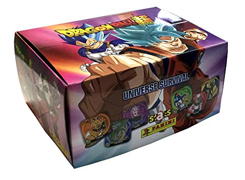 Panini SA- Caja 50 Sobres Staks Dragon Ball Super (004044BOX50E)
