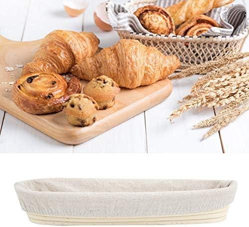 Rotan mand brood gisting broodmand rotan 134x39x22in voor bakkerij keukengerei Home