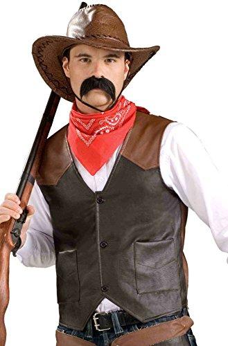 Cowboy Costume Vest – Adult Economy Standard