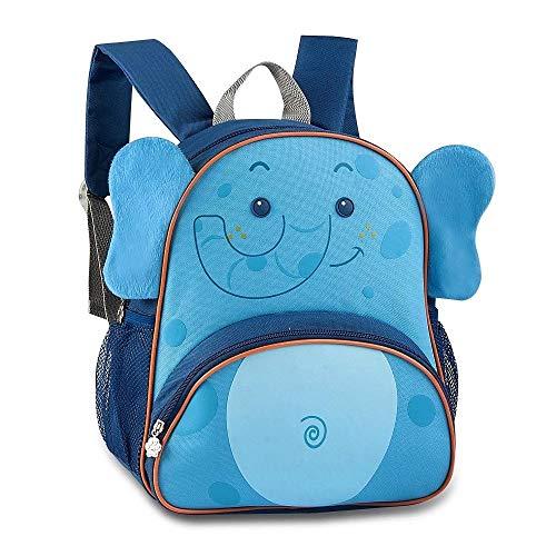 Mochila Infantil Escolar Pets Elefante Bichinhos Fofos Clio