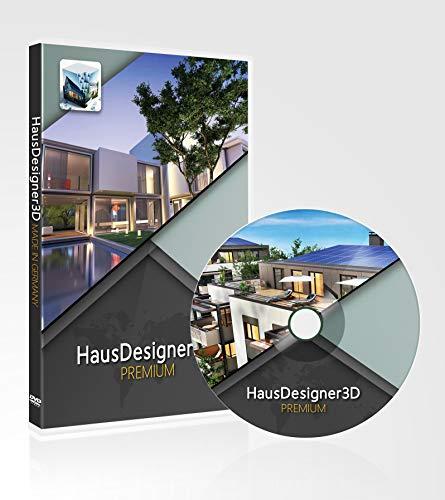 HausDesigner3D Premium 2020 - 3D CAD Hausplaner & Architektursoftware / Programm, einsetzbar als Raumplaner, Einrichtungsplaner, Badplaner, Küchenplaner, zur 3D Visualisierung