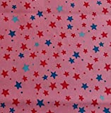 Sterne Rosa BIO-Baumwollstoff kbA Westfalenstoffe * Junge