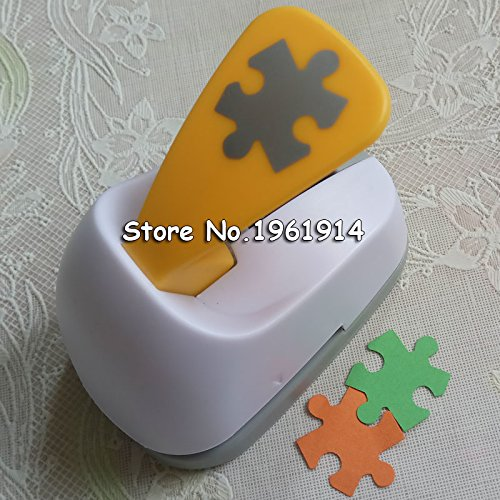 Lavenz M size Puzzle shaped save power paper/eva foam craft punch Scrapbook Handmade punchers DIY hole punches puncher
