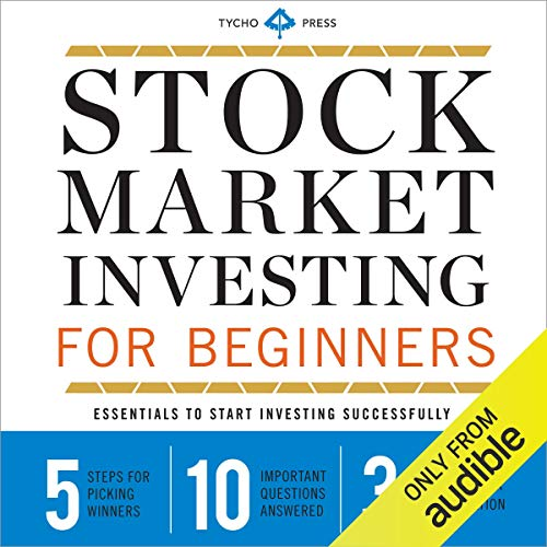 Stock Market Investing for Beginners cover art