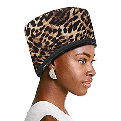 VICARKO Bonnet Hair Dryer Attachment Hooded Hair Dryer Soft Hair Steamer Cap Hood Dryer for Natural Hair Black Hair Home Use, Hair Styling Deep Conditioning Hair Drying