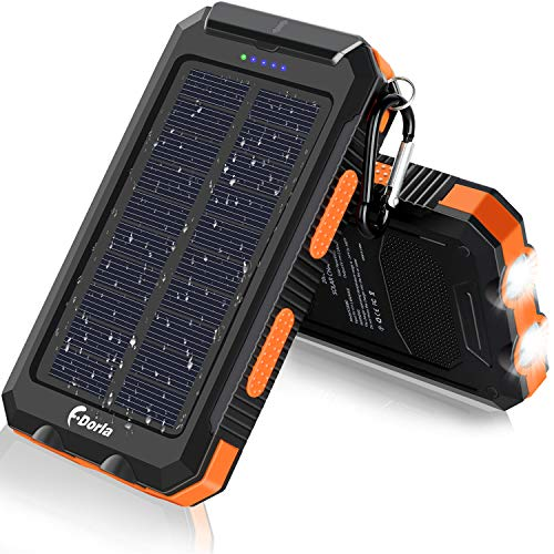 F.Dorla 20000mAh Solar Charger review