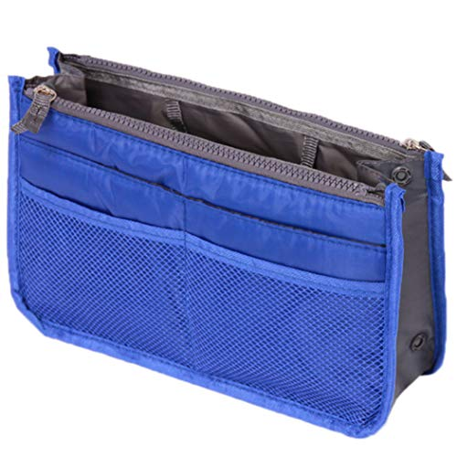 JXCG Organisateur de sac à main, sac de voyage d'insertion de sac à main de sac à main d'organisateur cosmétique de dames grand sac de poche