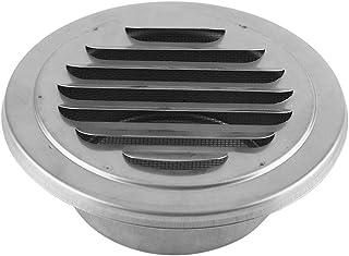 GLOGLOW Ventilación de Aire Rejilla de Acero Inoxidable