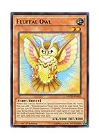 遊戯王 英語版 NECH-EN018 Fluffal Owl ファーニマル・オウル (レア) 1st Edition