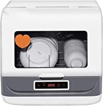 WZLJW Lavavajillas Sall, Inteligente claning Modos de 360 Grados;Tres DimensioAl SpAAshing porable FreesAnding DishAsher, for el hogar/ResAuAnt ggsm