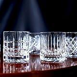 Newport Whiskygläser/Kristallgläser/Whiskybecher/JFK Tumbler Low im 6er Set mundgeblasen und handgeschliffen
