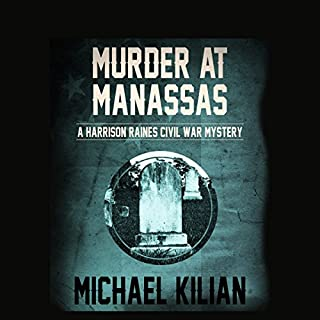 Murder at Manassas audiobook cover art