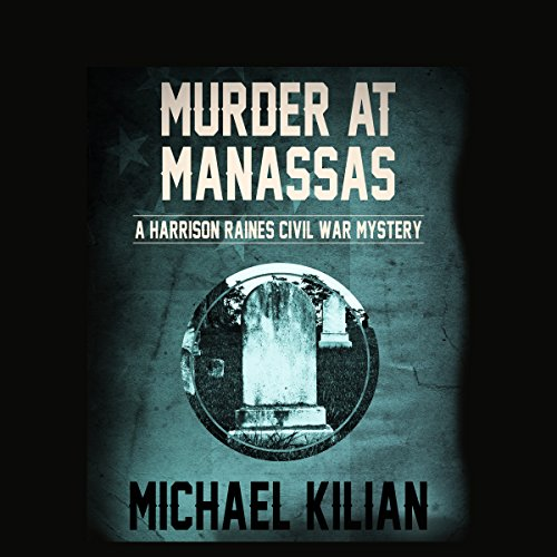Murder at Manassas audiobook cover art