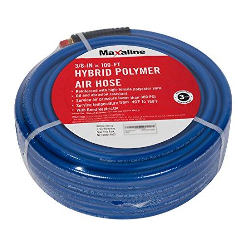 Maxaline Hybrid Polymer Air Compressor Hose,3/8inch x 100FT