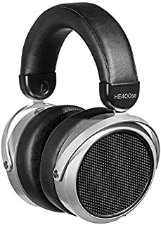 HIFIMAN HE400SE Stealth Magnets Version Over-Ear Open-Back Full-Size Planar Magnetic Wired Headphones for Audiophiles/Stud...