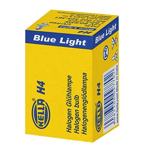 Preisvergleich Produktbild HELLA 8GJ 002 525-361 Glühlampe Blue Light,  Halogen Scheinwerferlampe,  H4,  60 / 55 W,  12V