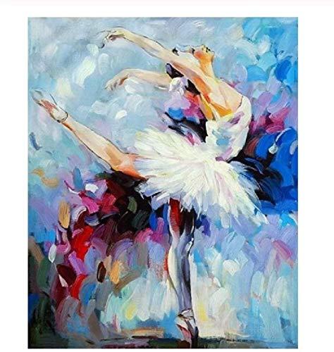 Jsomea Puzzle Adultos 1000 Piezas Rompecabezas Bailarina de ballet Puzzle Rompecabezas para Niños Juguete De Regalo Ideal La Mejor Decoración para El Hogar De Bricolaje 75×50cm