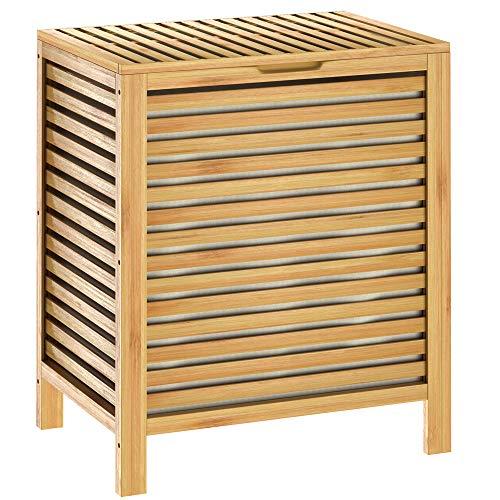 Casaria -   Wäschekorb Bambus