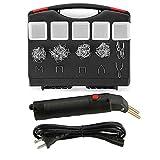 Plastic Welder Kit, 50W Hot Stapler Plastic Repair Gun, Car Bumper Repair Kit with 405 Pcs Staples,...