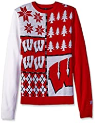 100% Acrylic 100% officially licensed by KLEW Great for ugly sweater parties The perfect item for any true fan
