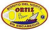 Ortiz El Velero - Bonito del Norte en Escabeche - Atún blanco - 112 g - [pack de 3]