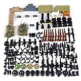 VenGo Accessori Militari Set di Armi Custom Arma per Personaggi della Polizia SWAT Soldato, COMPATIBILI con Lego