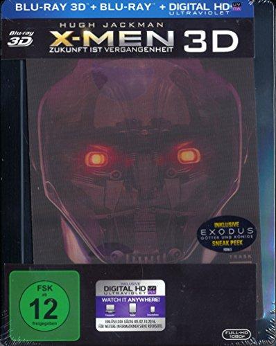 X-Men - Zukunft ist Vergangenheit - Exklusiv limitiertes Steelbook inkl. Lenticular - 3D + 2D - Blu-ray