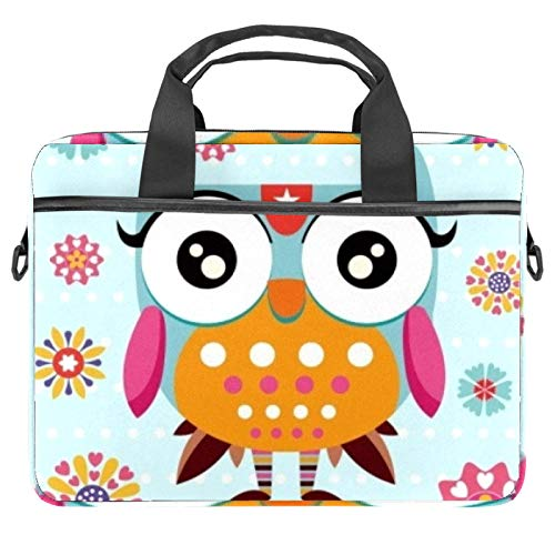 13.4'-14.5' Laptop Case Notebook Cover Business Daily Use or Travel Pretty Owl