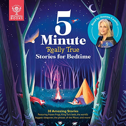 Britannica 5-Minute Really True Stories for Bedtime cover art