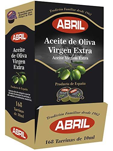 Tarrinas Monodosis Aceite de Oliva Virgen Extra ABRIL 168 tarrinas de 10ml.