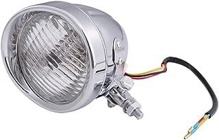 ベーツライト ヘッド ライト 4.5インチ バイザー付 H4 スリットタイプ ノスタルジック スタイル ビンテージ バイク カスタム パーツ 汎用品