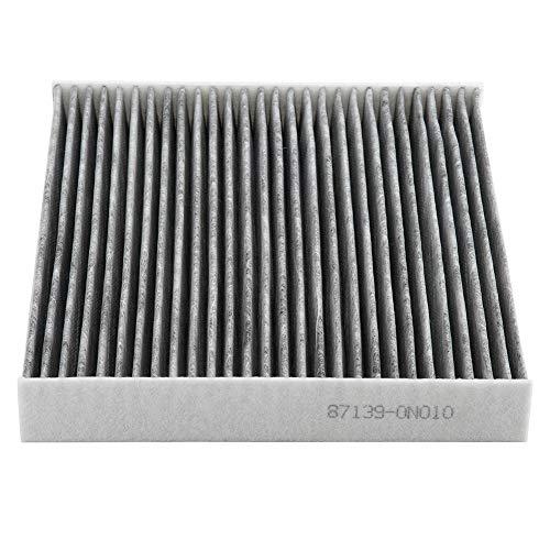 KIMISS Auto Cabin Air Filter, Fibre Doek Anti-Pollen Stof Vervanging Onderdeel Luchtfilter voor 87139-0n010
