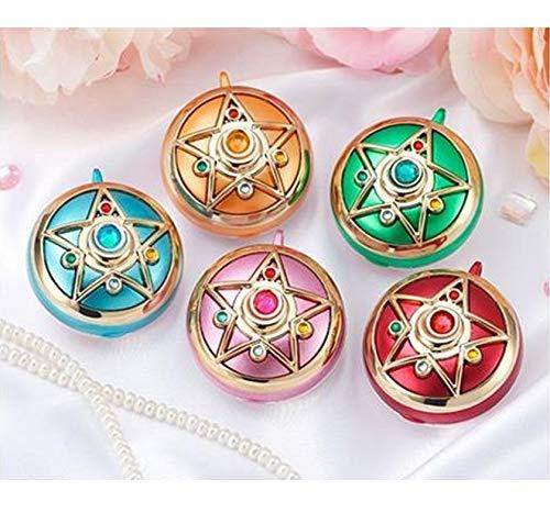Bandai Sailor Moon Sailor Moon Miniaturely Tablet Set 5 Pretty Guardians Color Version per Adulti, 34362