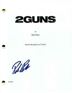 Paula Patton Signed Autograph - 2 Guns Full Movie Script - Mark Wahlberg, Denzel